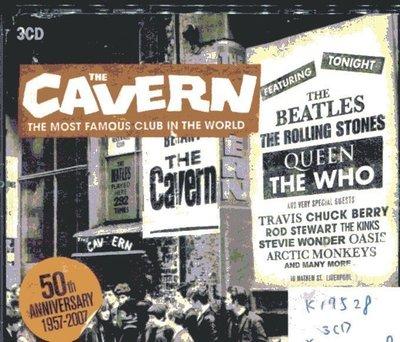 *真音樂* THE CAVERN / THE MOST FAMOUS CLUB 3CD 二手 K17528 (封面底破)