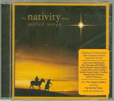 """""""降世錄-歌曲版(Nativity Story- Sacred Songs)""""- Various,美版全新(N20)"""