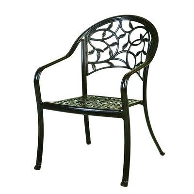【紅豆戶外休閒傢俱】藤蔓鋁合金餐椅/採用鋁合金材質製作/品質堅固耐用/美觀造型設計/適合各種場所使用