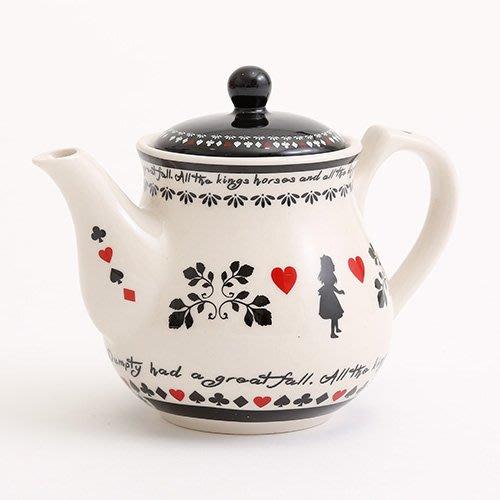 現貨 ◎日本◎ ALICE  TEA PARTY 愛麗絲 午茶 派對 泡茶壺