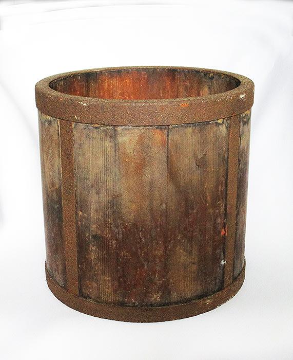 老米斗置物盒花器容器台灣民藝楊【心生活美學】
