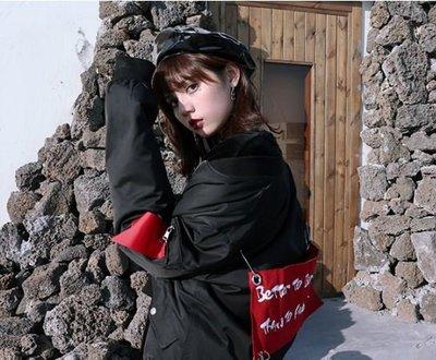 【黑店】原創設計 訂製款布章飛行外套 個性外套 暗黑系穿搭百搭飛行外套 內鋪棉保暖外套SG144
