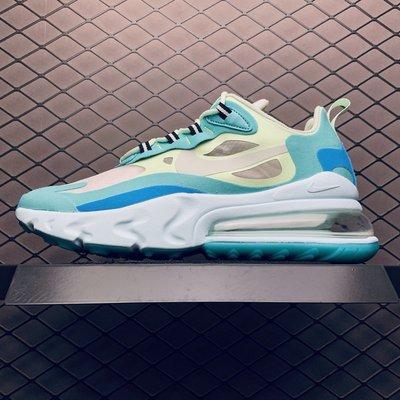 Nike Air Max 270 React 藍 氣墊 休閒運動 慢跑鞋 AO4971-301 男女款