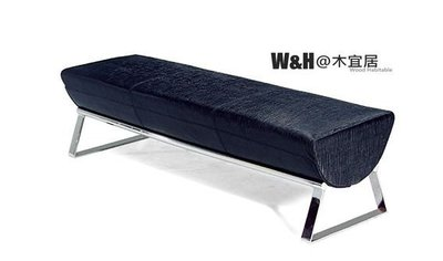 『W&H@木宜居』黑色長凳/椅凳/長凳/商用空間/醫美/診所/設計師/價格請洽詢/限大台北地區免運