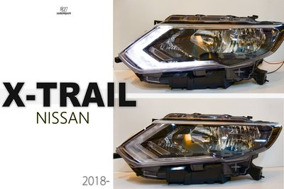小傑車燈精品--全新 NISSAN X-TRAIL X TRAIL 18 19 年 原廠型 無HID版 大燈 單顆