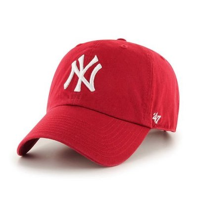 【YZY台灣】47 BRAND NEW YORK YANKEES 洋基 老帽 復古帽 老爺帽 MLB LOGO 經典 紅