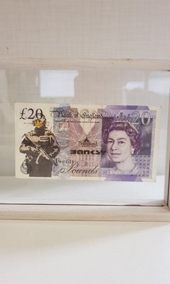Banksy Dismaland currency soilder