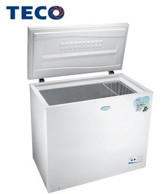 TECO東元 194L 上掀式冷凍櫃* RL2017W*可切換冷藏冷凍功能 可移動置物籃 箱內底部排水孔
