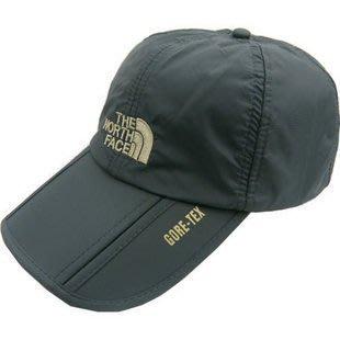 THE NORTH FACE防水太陽帽可摺疊 速乾帽男女遮陽帽 夏天棒球帽 戶外防曬帽 透氣帽子