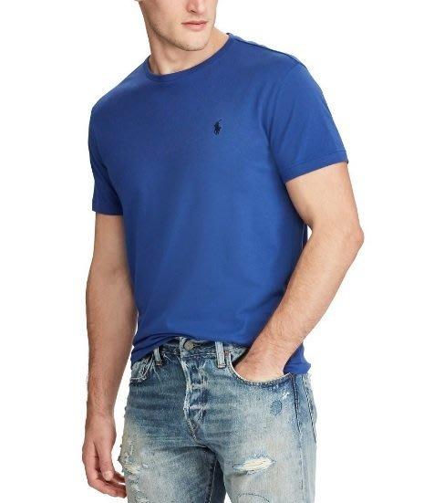 POLO Ralph Lauren 短袖T恤 短袖 青年款 小馬 藍色