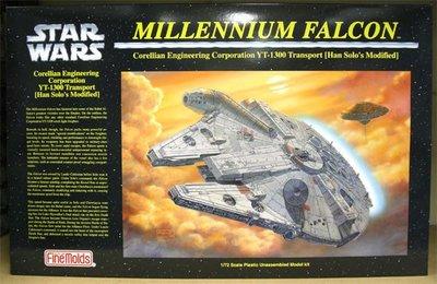 STAR WARS - Millennium Falcon - Fine Molds 1/72 (千歲鷹)