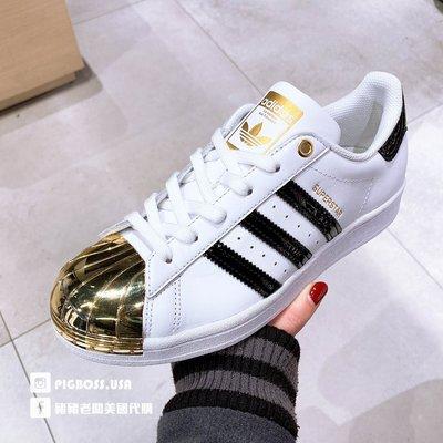 【豬豬老闆】ADIDAS Originals Superstar 白 黑金 復古 休閒 貝殼頭 女鞋 FV3310