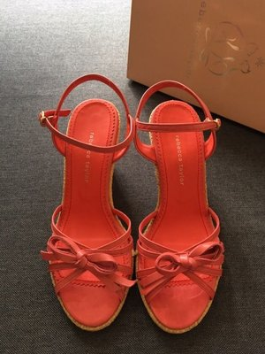 Rebecca Taylor 花刺繡 涼鞋 sandals (made in Japan) (Jill Stuart style)
