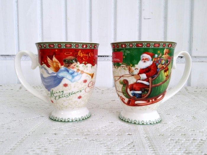 蘇菲亞精品傢飾~ 義大利聖誕節天使馬克杯/特價促銷