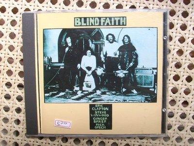 CD~超級經典Eric Clapton前團Blind Faith--Blind Faith專輯...收錄Well All Right等