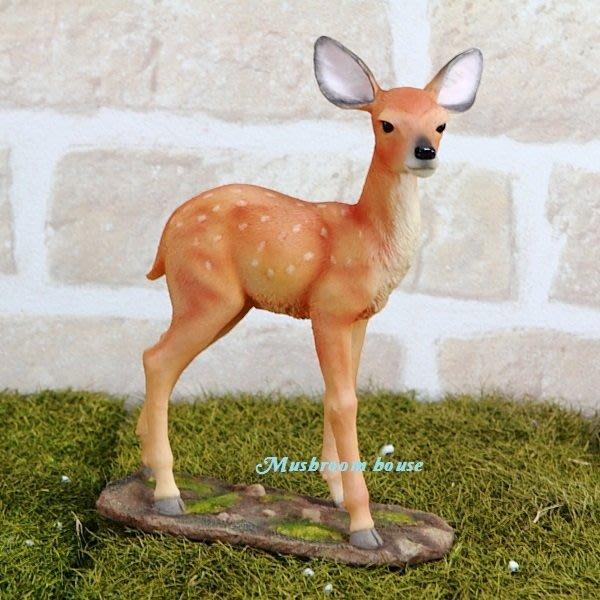 點點蘑菇屋 歐洲精品~可愛小鹿擺飾 小鹿斑比 梅花鹿 動物擺飾 珍藏可愛動物家飾 現貨