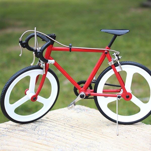 5Cgo【批發】含稅會員有優惠 43299291227 diy金屬自行車模型拼裝金屬模型益智玩具家居擺件高檔拼接模型復古