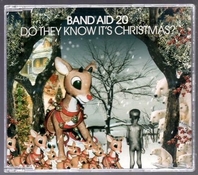 BAND AID 20 Do They Know It's Christmas 單曲CD b27
