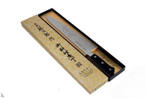J日本製藤次郎 DP 口金27公分牛刀 (有花紋的才打VG10)自己看圖