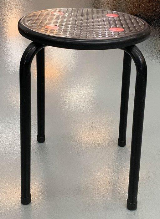 宏品二手家具 全新中古傢俱家電 F81630*黑色圓椅*二手桌椅 辦公桌 電腦桌書桌 台北桃園台中彰化