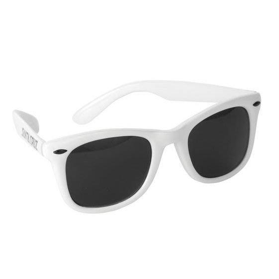 [JIMI 2 ] Santa Cruz - Strip Shades 膠框太陽眼鏡 墨鏡 日本大人氣 西岸滑板傳奇品牌 (白)