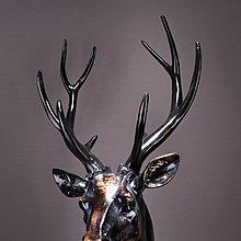 〖洋碼頭〗家居飾品擺件 歐式樹脂麋鹿頭擺件 復古鹿角裝飾品創意擺設品客廳 ysh271