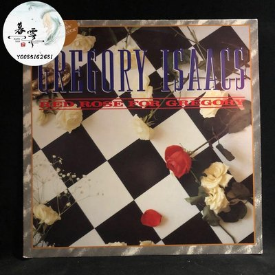 Gregory Isaacs Red Rose For Gregory 黑膠 LP 英首cd 全新 音樂【暮雲】