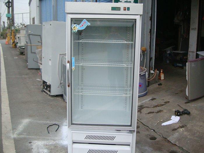萬丹電器醫生*中古110v二手單門玻璃飲料櫃