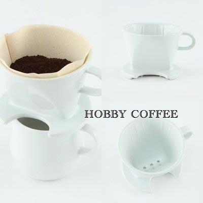 【豐原哈比店面經營】日本製 KEYUCA bulge 扇形咖啡陶瓷濾杯 1-4人份 美濃燒