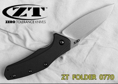 刀品世家 美國原廠正品ZERO TOLERANCE ZT0770 折刀 直刀 砍刀 開山刀
