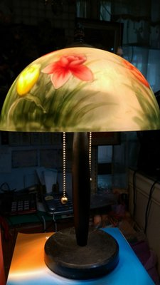 彩繪玻璃桌燈