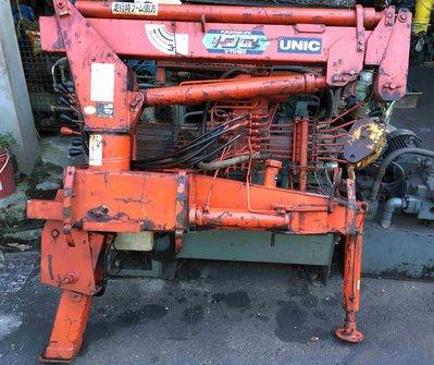 (新貨到)日本UNIC UR103型 油壓吊桿 3噸半用(995KG吊桿、延伸3節) 油壓吊車/貨車吊桿(文武支撐腳)