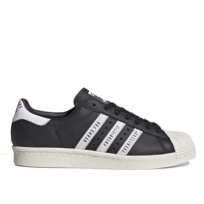 【A-KAY0】ADIDAS X HUMAN MADE SUPERSTAR 80S BLACK 黑【FY0729】