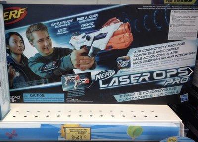全新 Nerf Laser Ops Pro AlphaPoint 2-Pack