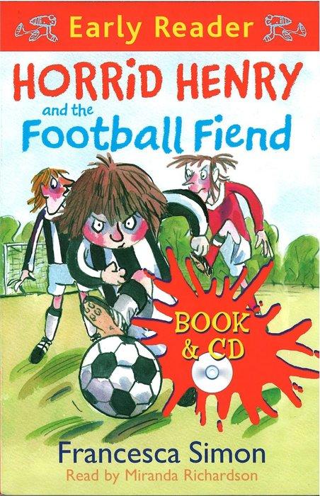 *小貝比的家*HORRID HENRY AND THE FOOTBALL FIEND/平裝書+CD/7~12歲