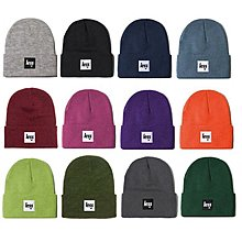 { POISON } LESS SQUARE LOGO BEANIE 2017 最新配色 反摺毛帽