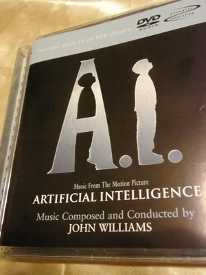 A. I. Artificial Intelligence DVD audio AI人工智慧原聲帶約翰威廉斯史蒂芬史匹柏