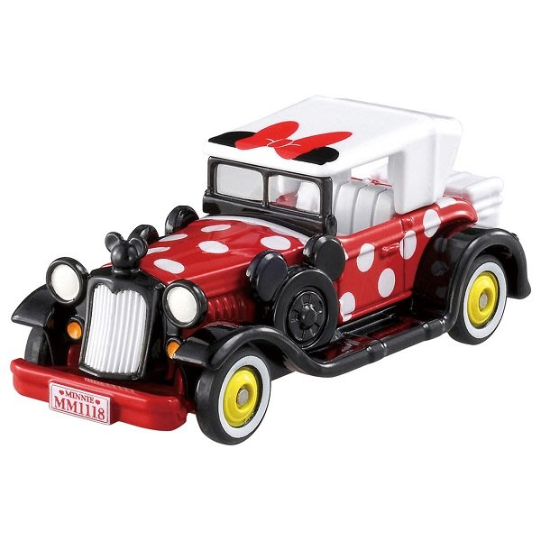 【HAHA小站】麗嬰 日本 TOMICA 多美 Disney 迪士尼 DM-11 米妮點點經典老爺車 DS11565