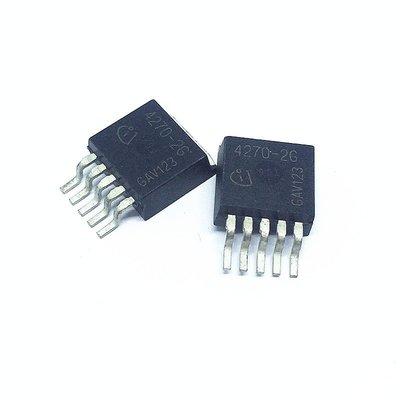 線性穩壓器 TLE4270-2G TO-263-5 650mA/5V W142-3 [328476]