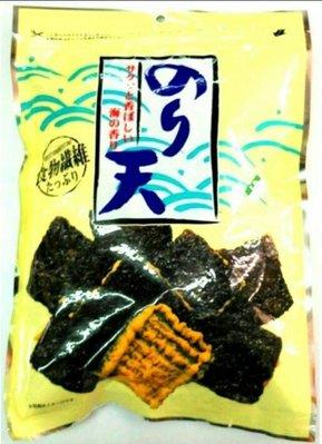 丸嘉海苔天婦羅原味130元,芥茉138元