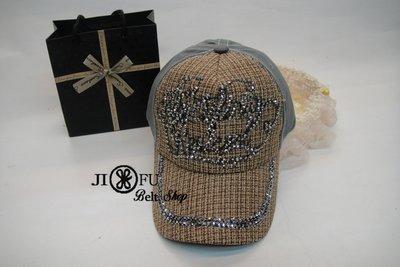 現貨供應*JIFU 鉅釜皮件*帽子*棒球帽 潮帽(駝色 )(W127)
