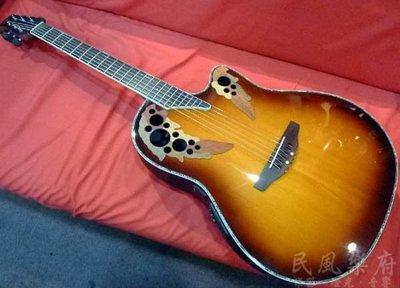 《民風樂府》Ovation Celebrity CC49S-VA  單板葡萄孔圓背電木吉他 民歌經典
