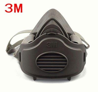 綸綸 3M 3200防塵口罩+60棉(速出貨)3m仿偽標籤  面具粉塵工業打磨煤礦裝修灰塵透氣水泥面罩可清洗