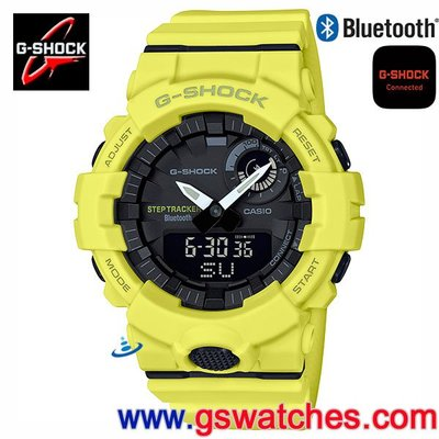 【金響鐘錶客訂商品】全新CASIO GBA-800-9ADR,G-SHOCK,GBA-800-9A,藍牙,公司貨