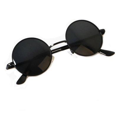 太子鏡同款圓形墨鏡復古男士小框開車偏光太陽眼鏡女潮