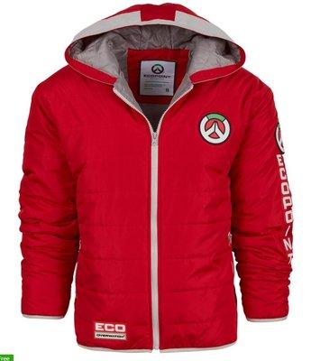 【丹】BZN_Red Overwatch Ecopoint Full-Zip Puffy Jacket 鬥陣特攻 外套