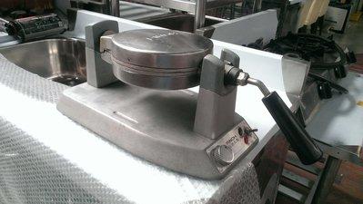 大台南冠均二手貨--營業用專業級 品諾j24 厚片鬆餅機 鬆餅機 鬆餅爐 鬆餅烤爐 圓款方格 可翻轉*餐飲設備/生財器具