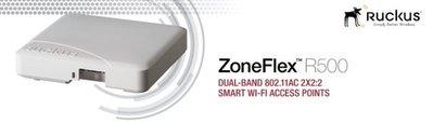 Ruckus ZoneFlex R500 雙頻 11ac 2x2:2 動態智慧指向天線 基地台AP