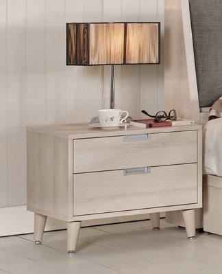 【生活家傢俱】CM-533-6:愛莎1.8尺床頭櫃【台中3400送到家】床邊櫃 收納櫃 置物櫃 實木腳 低甲醛木心板