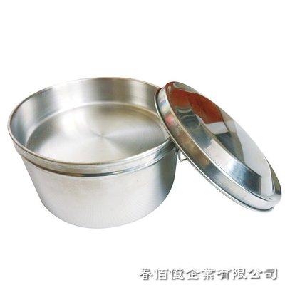 派樂正 304不鏽鋼 圓形 雙層 便當盒14cm 附菜盤飯盒+贈湯碗湯匙(五件式)雙扣環│省力好蓋